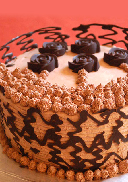 Choco Crown Cake