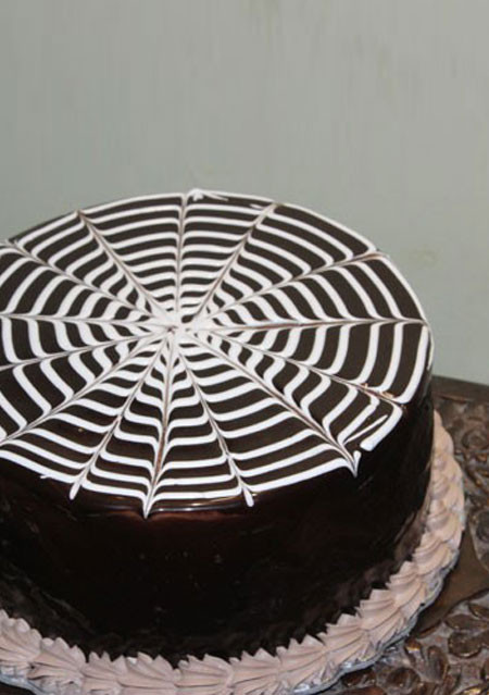 Choco Web Truffle Cake