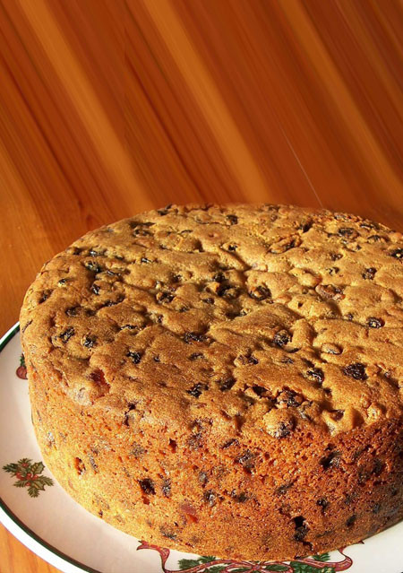 Golden Fruit Cake