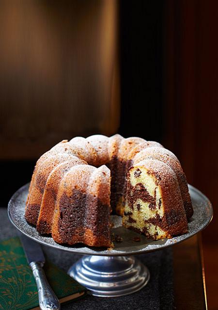 Marble Ring Cake