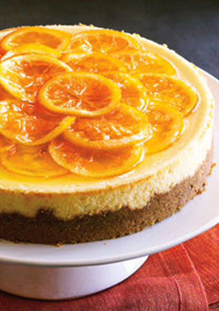 Orange Cheesecake