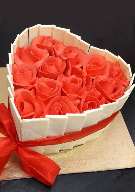 Red Cupid's Basket