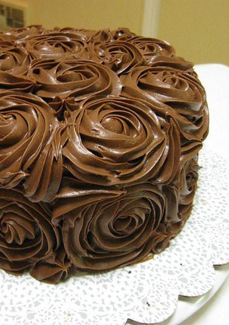 Dark Rose Cake