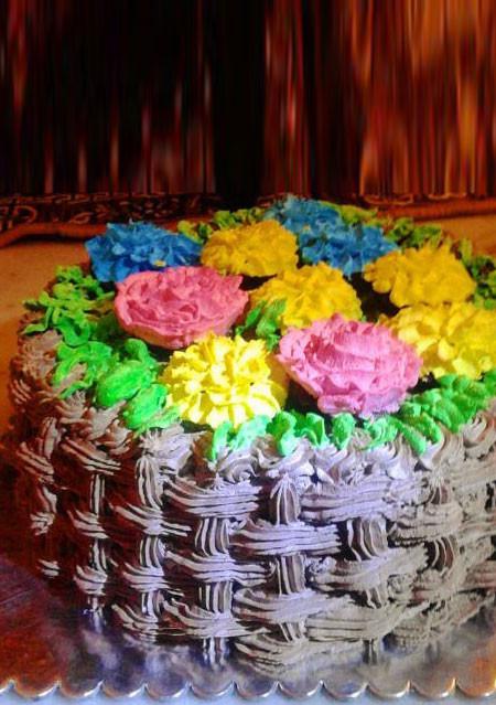 Flower Basket Special Cake